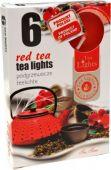 Čajová svíčka - červený čaj