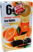 Čajová svíčka - Pomeranč/vanilka