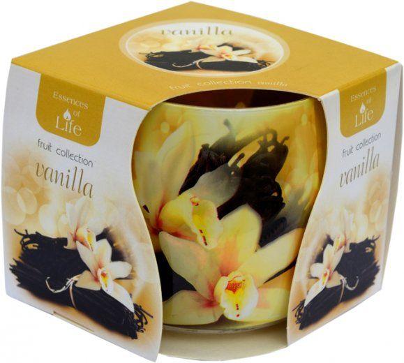 Svíčka ve skle - vanilka