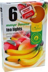 Čajová svíčka - mango/banán