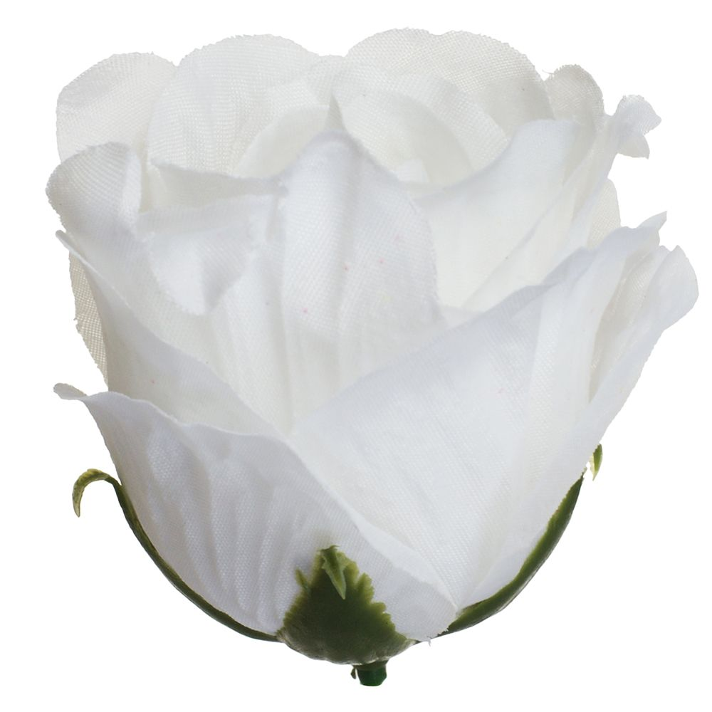 Růže poupě vazbová, bílá