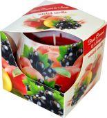 Svíčka ve skle - černý rybíz, mango
