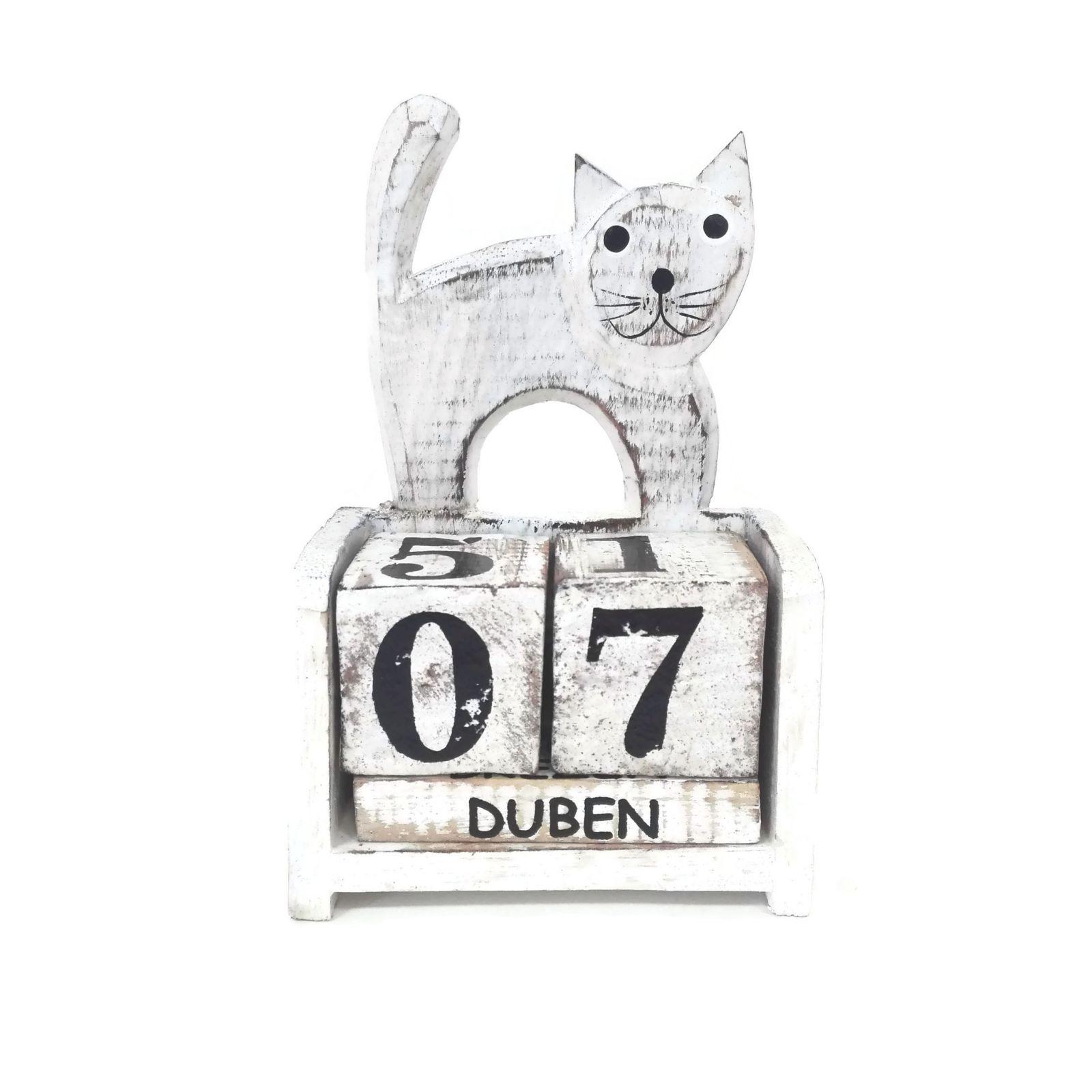 Kočka kalendář