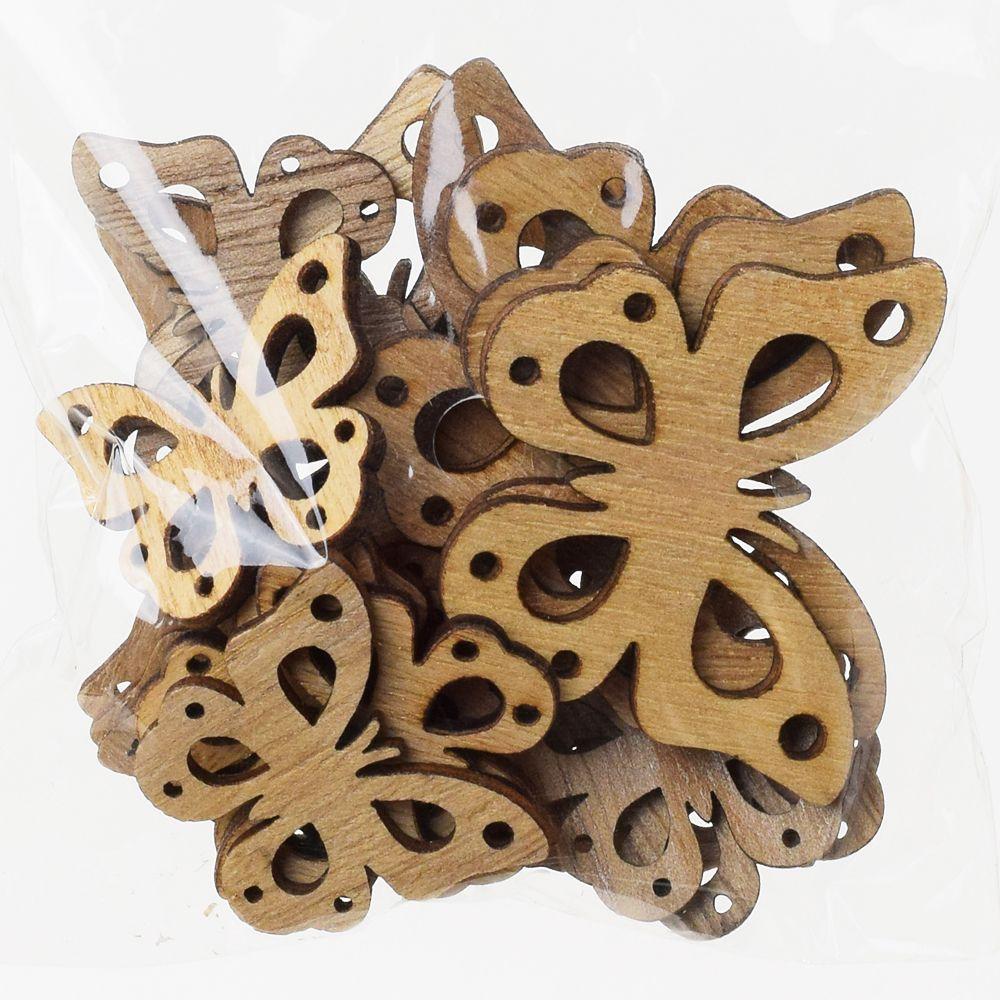Motýl dřevo