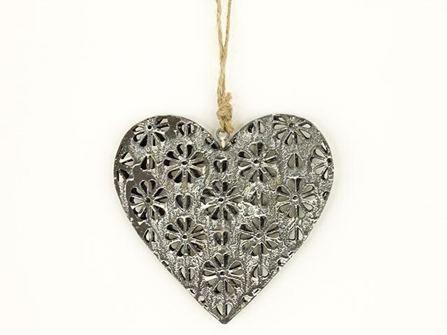 Srdce kovové