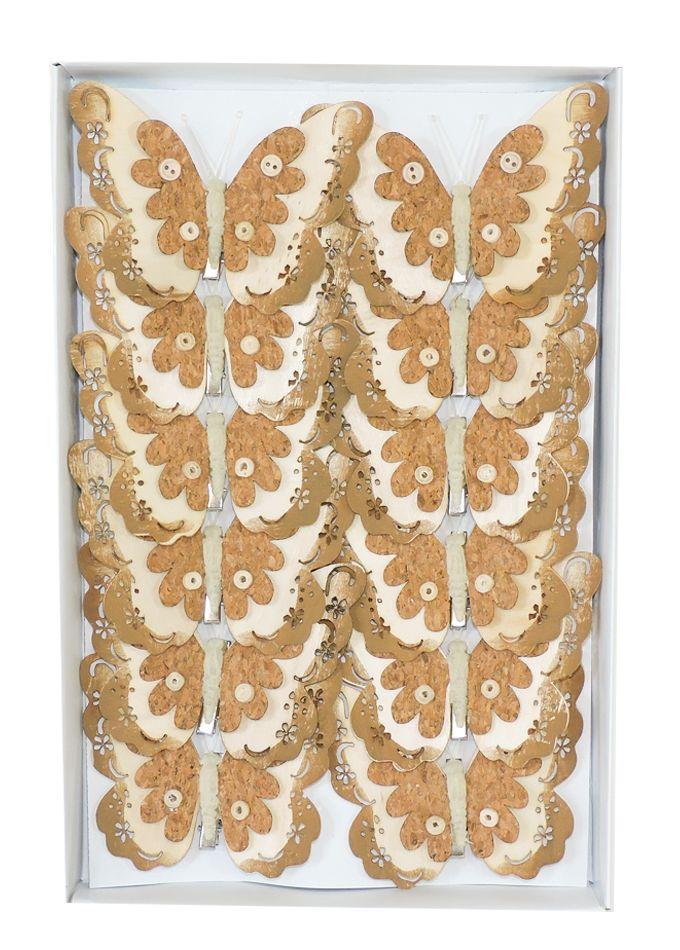 Dekorační motýli