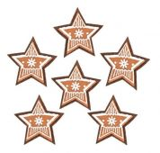 Hvězdy filc S/6 na kolíčku