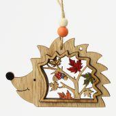 Ježek dřevo - závěs