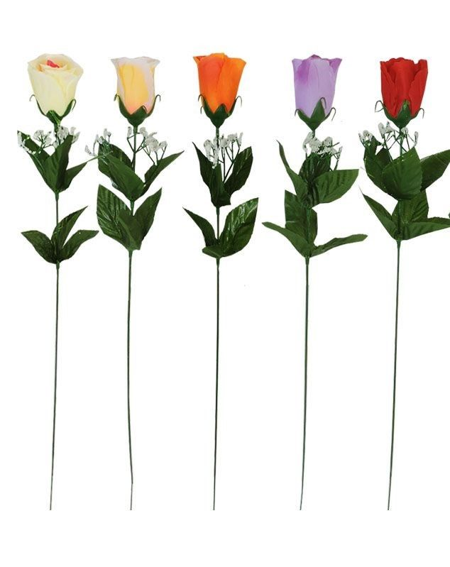 Růže sólo - umělá květina