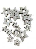 Hvězda S/16 - stříbrná