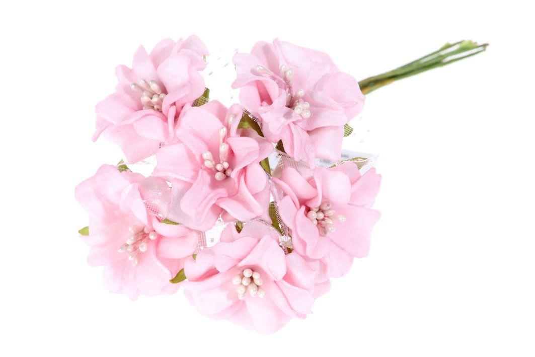 Jiřinky pěnové - umělá květina