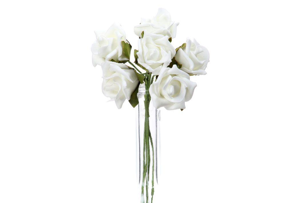 Růže pěnová - umělá květina