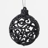 Baňka plast ornament S/2