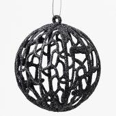 Baňka plast ornament