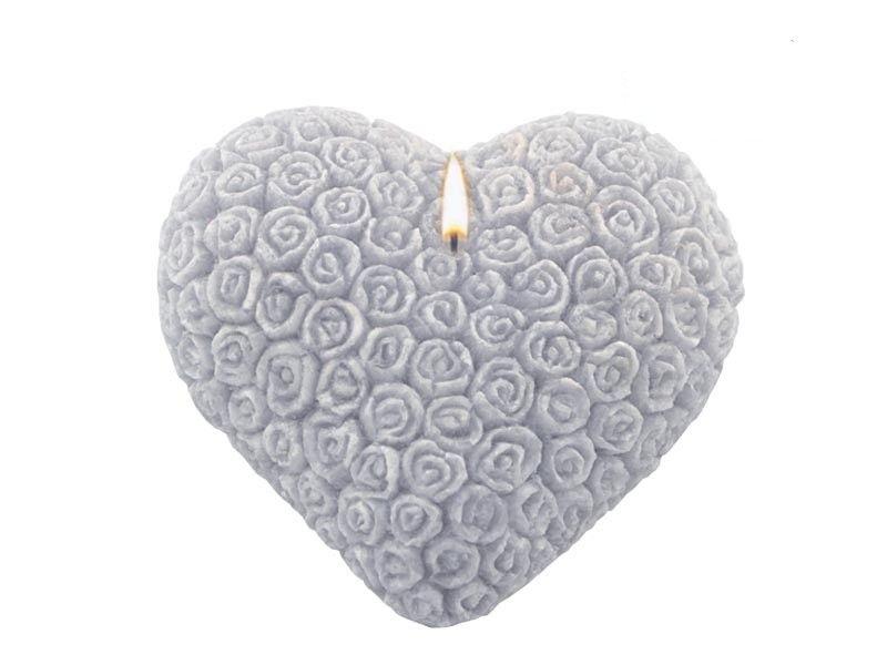 Srdce - vonná svíčka