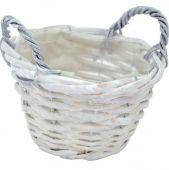 Košík - bílá