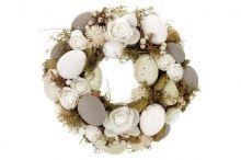 Věnec velikonoční zdobený
