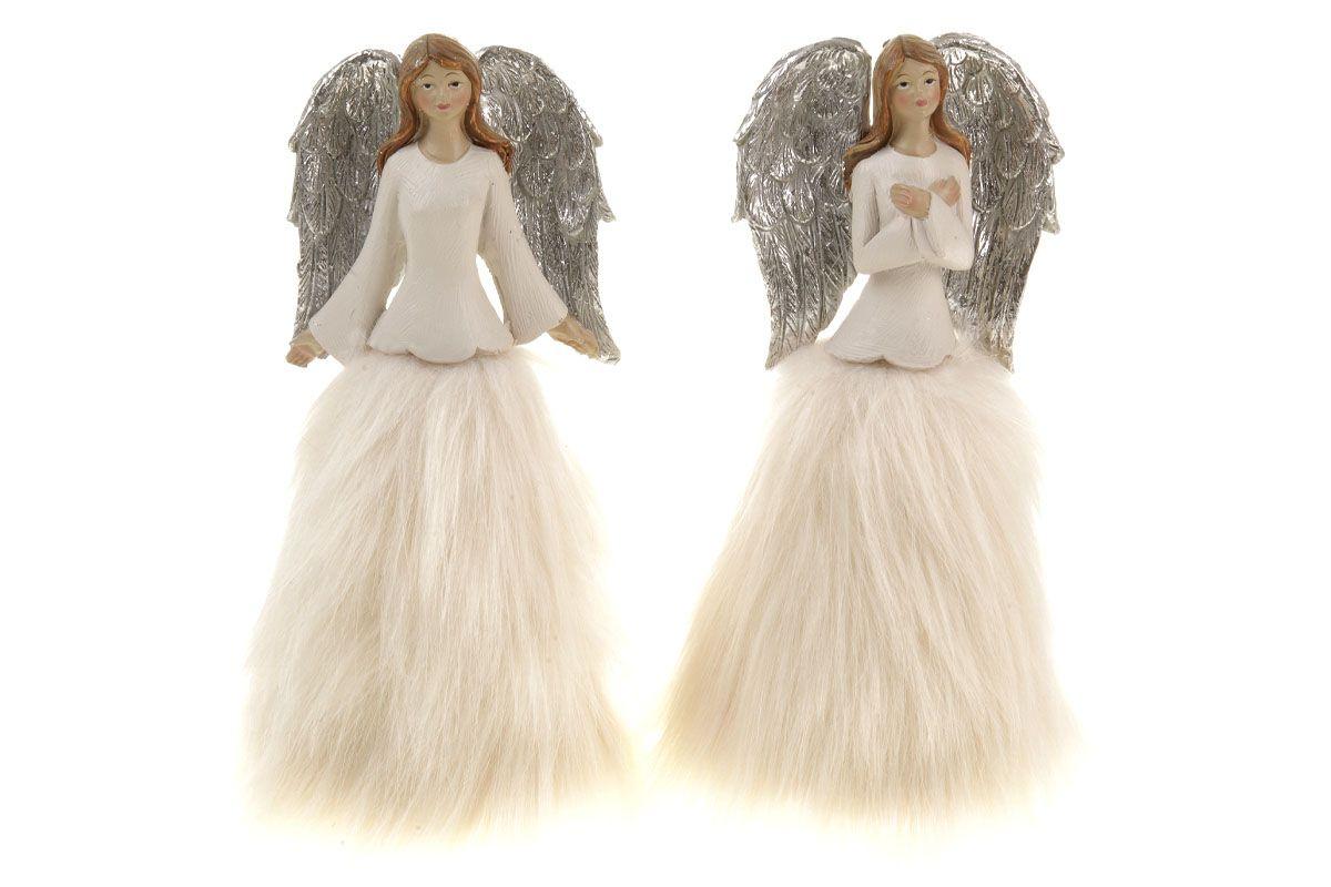 Anděl - polyresinová dekorace