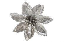 Vánoční hvězda mini - stříbrná