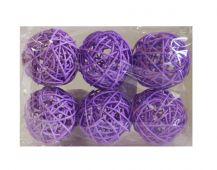Koule 7cm - fialová