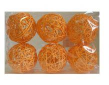 Koule 10cm - oranžová