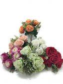 Růže x6 - MIX