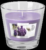 Svíčka ve skle - levandule