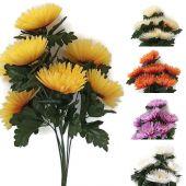 Chryzantéma x7 - umělá květina