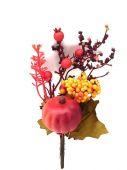 Dýně, zápich - podzimní dekorace