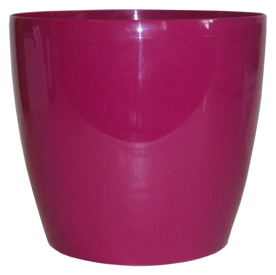 Plastový obal tmavě růžová