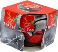 Svíčka ve skle - červený čaj