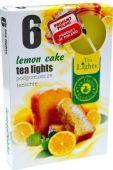 Čajová svíčka - citron. koláč