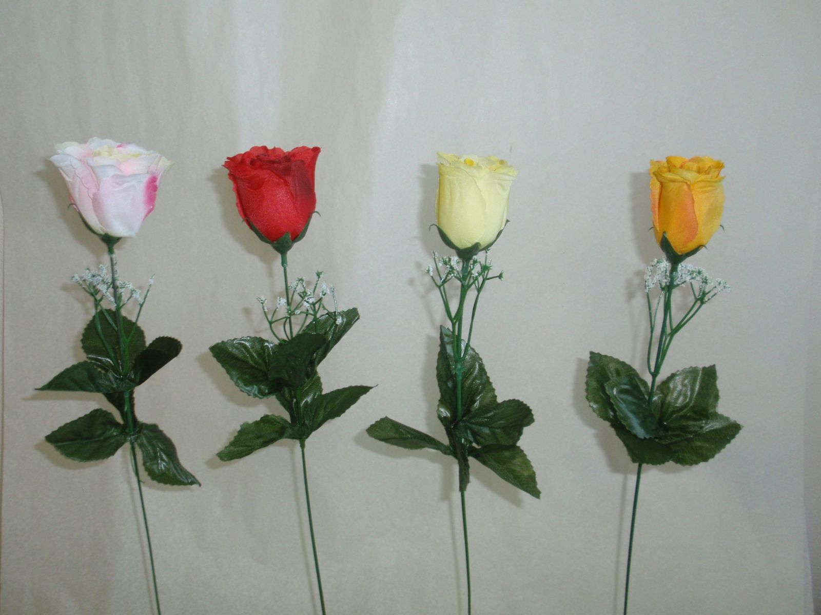 Růže - sólo, MIX 4 barvy