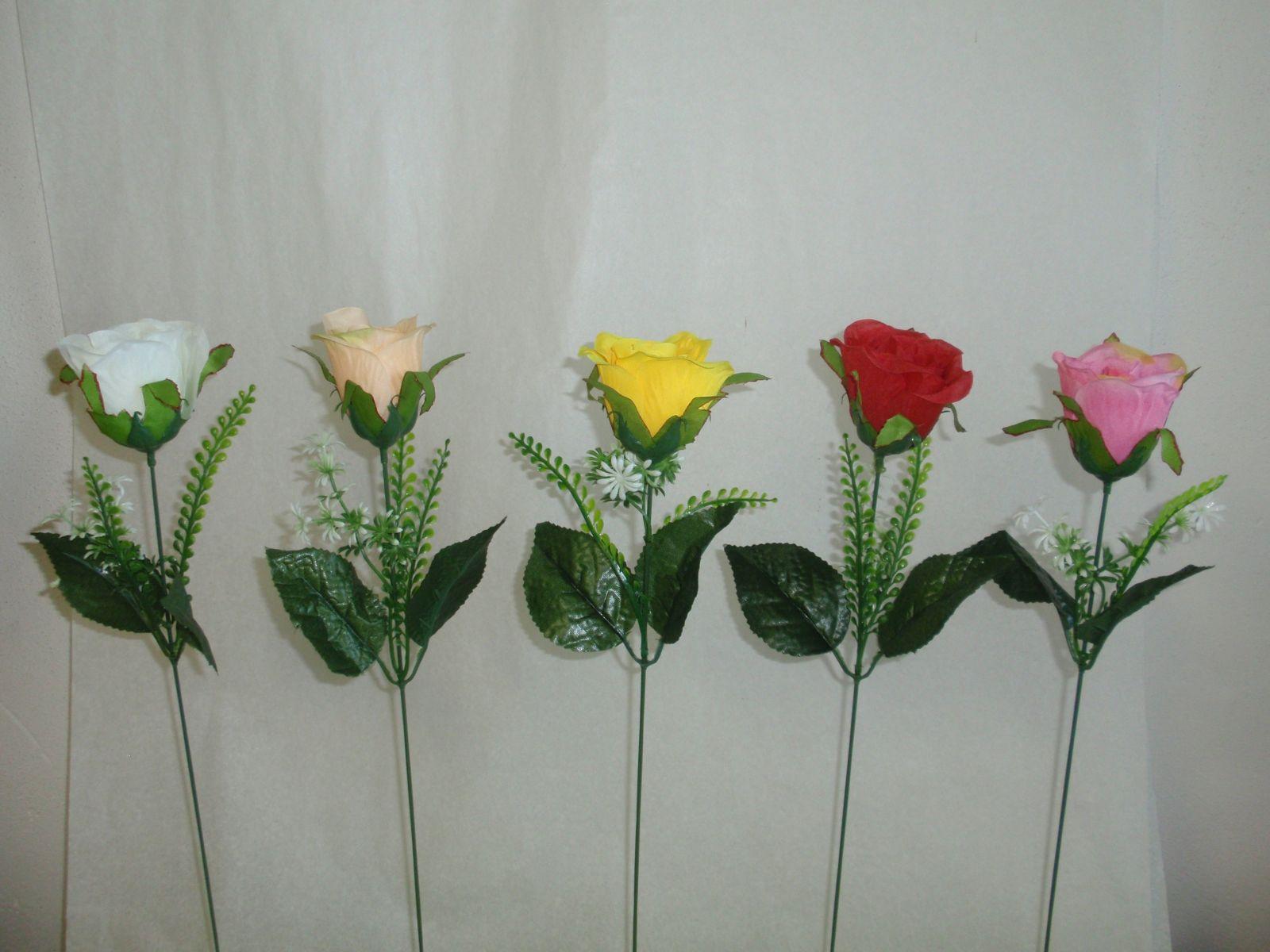 Růže - sólo, MIX 5 barev